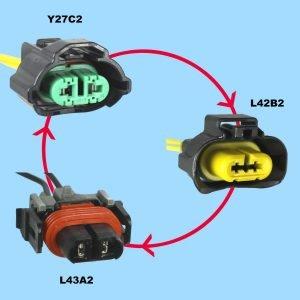 Fog Lamp Connectors and Head Lamp Connectors