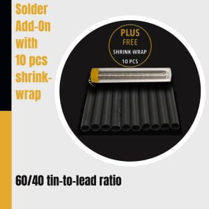solder shrink wrap repair