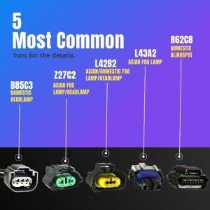 Popular Automotive Connectors
